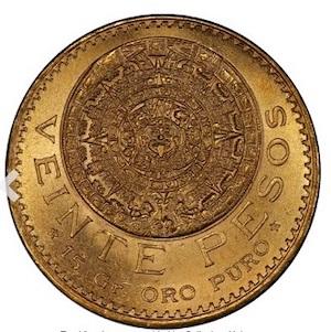20 pesos mexicanos 1920 Heritage_anverso